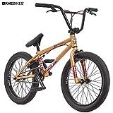 KHE BMX Vélo Dirty Harry modèle 2018Mat Bronze-Or 11,4kg seulement.