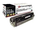 Original Reton Toner mit 35% mehr Leistung nach (ISO-Norm 19798) kompatibel zu CLT-K504S für Samsung CLP-415N CLP-415NW Samsung CLX-4190 CLX-4195FN CLX-4195FW CLX-4195N Samsung Xpress C1810W C1860FW
