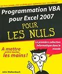 Programmation VBA pour Excel 2007
