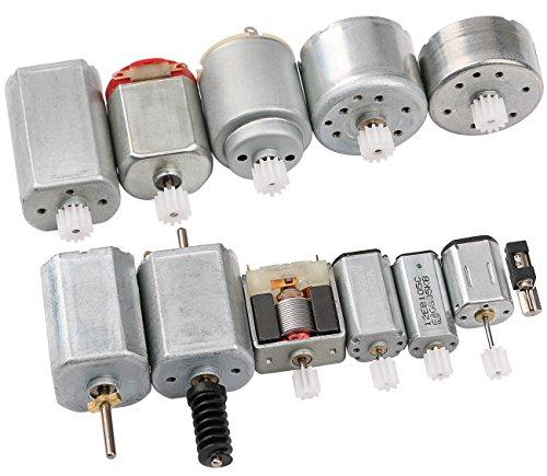 DC Eléctrico Motor Equipo, Yeeco 12 Piezas Micro Motor Generador Motor Conductor...