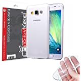 Producto Original Donkeyphone® - FUNDA GEL TRANSPARENTE PARA SAMSUNG GALAXY A7 A700F SILICONA ULTRA THIN - ULTRA FINA 0,33 mm