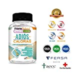 ADIÓS CALORIAS - Potente Bloqueador de Grasas y Carbohidratos - Para Una...