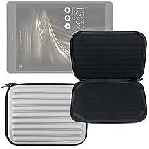 DURAGADGET Funda Blanca Con Espuma De Memoria Para Tablet Asus ZenPad 3s 10 / Konrow K-Tab 1000+ / 1001+ / 701+ / 702+