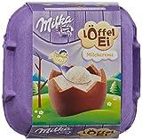 Geschenkidee Schokolade - Milka Löffel-Ei Milchcrème
