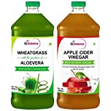 #4: St.Botanica Wheatgrass Juice With Aloevera + Apple Cider Vinegar with Mother Vinegar