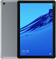 Huawei MediaPad M5 Lite 10-Inch Tablet - Huawei Kirin 659, 3 GB RAM, 32 GB HDD, Mali T830 MP2, Android 8.0 FHD Display- (Grey)