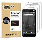 iVoler [3 Unidades] Protector de Pantalla para Wiko Lenny 4 Plus, Cristal Vidrio Templado Premium