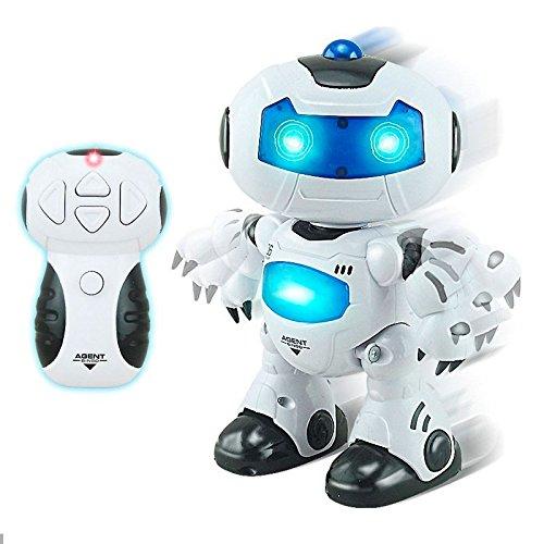 Robot Rc Agent Bingo ¡Baila, Canta y Gira la Cabeza! | Efectos Luces y Sonido | Hobby Control Remoto