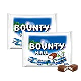 #9: Bounty Chocolate Minis, 227g (Pack of 2)