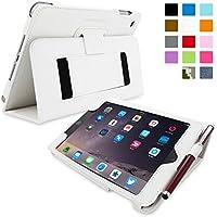 Snugg iPad Mini 3 Caso (Bianco), Copertina in Ecopelle Intelligenti,