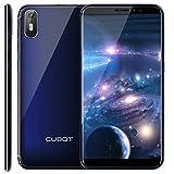 CUBOT J5 Smartphone Android 9.0, Télephone Portable débloqué Écran FHD 5,5 Pouces (18:9) 2800mAh Batterie, 2Go-16Go (Extensible à 32Go) Double Camera 13MP+2MP/ 8MP Identité faciale Blue