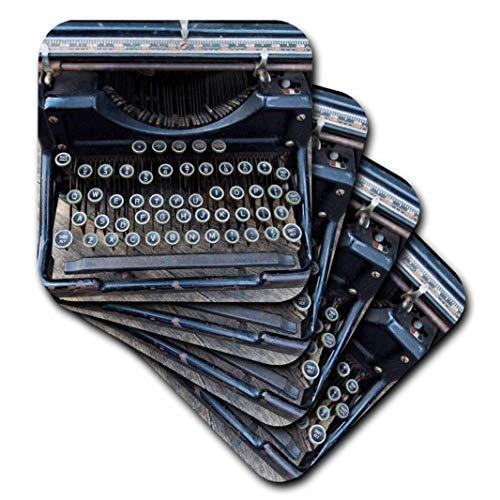 3dRose cst_259791_2 Vintage Type Writer, Brooklyn, New York, USA Williamsburg, 8 Stück