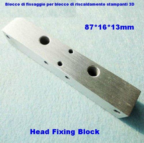 Block-Kit für Block-Heizung für 3d-Drucker MakerBot REP Rap mm Aluminium–Block für 3d printer Montage Nozzle Extruder-Heizung