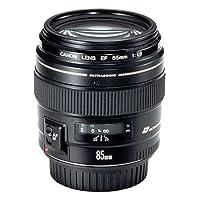 Canon Lens Ef85Mm F1.8 Usm Fotoğraf Makinesi, Full HD (1080p), Siyah