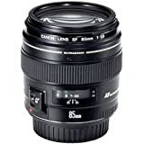 Canon EF 85 mm f/1.8 USM Prime Lens for Canon DSLR Camera