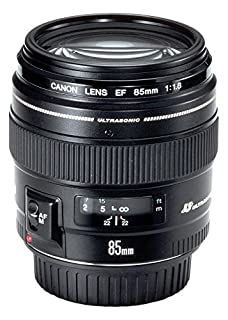 Canon EF 85mm f/1.8 USM - Objetivo para Canon (Distancia Focal Fija 85mm, Apertura f/1.8-22, diámetro: 58mm) Negro (B00005NPOB) | Amazon price tracker / tracking, Amazon price history charts, Amazon price watches, Amazon price drop alerts