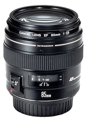 Canon EF 85 mm f/1.8 USM Prime Lens for Canon DSLR Camera