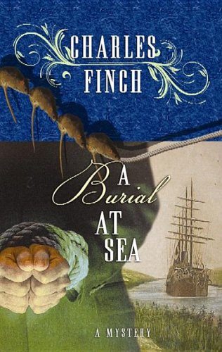 A Burial at Sea (Center Point Premier Mystery (Large Print))