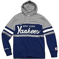 "New York Yankees Mitchell & Ness MLB ""Head Coach"" Pullover Hooded Sweatshirt"