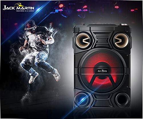 Jack Martin Denver Bluetooth Party Speaker with Wireless Mic