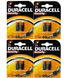 8 x DURACELL LR1 ALKALINE SECURITY BATTERIES CLOCK for sale  Delivered anywhere in Ireland