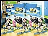 Belomoda 5D Minions Cartoon Theme Printe...