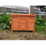 BUNNY BUSINESS Rabbit/ Guinea Pig Giant Hide House/ Run Hutch, Extra Large, 60 × 47 × 50 cm 13