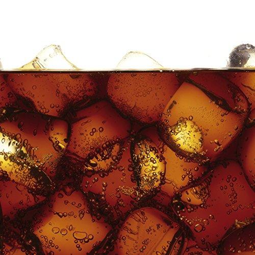 Apple iPhone 4 Housse Étui Silicone Coque Protection Coca Boisson Glaçon Sideflip Sac