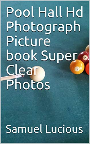 Pool Hall Hd Photograph Picture book Super Clear Photos (English Edition)