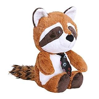 Afinder Nett Waschbär Plüschtier Stofftier Puppe Stoffpuppe 35cm Plüsch Spielzeug Cartoon Deko Toy Geschenk Gift für Kinder Baby