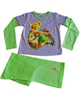 Tinkerbell Pyjamas Disney Fairies Pyjamas Tinkerbell PJ 3 to 7 Yrs
