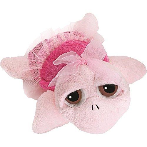 Unbekannt Li'l Peepers 14018 - Suki Stofftier Schildkröte Ballerina, 15.2 cm, rosa