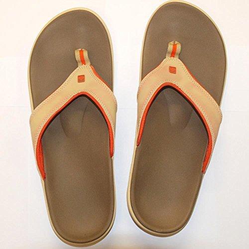 Spenco Yumi Hommes Sandale avec semelle anatomique Noir / Gris
