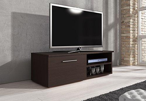 TV Schrank Lowboard Fernseher Schrank TV Möbel  Fernsehtisch 120cm wenge