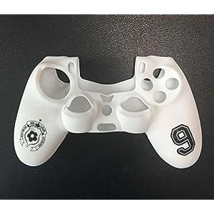 Silikon Skin Tasche Hülle Schutzhülle Schutzfolie für Sony Playstation 4 PS4 Steuerung Weiß
