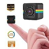 Mini Microcamere Spia, Bysameyee 720p / 1080p Videocamere nascoste con rilevazione del movimento Visione notturna IR, Telecamera di sorveglianza per cameretta, Videocamera Action / Sport Piccoli gadget per scelta regalo