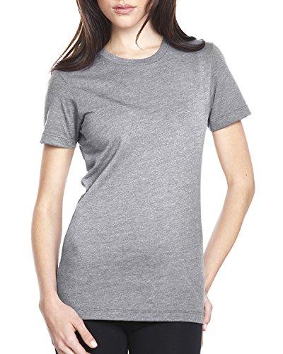 Next Level -  T-shirt - Donna Dark Heather Grey