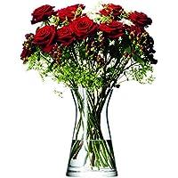 LSA International G667-29-301 29 cm Flower Mixed Bouquet Vase - Transparent