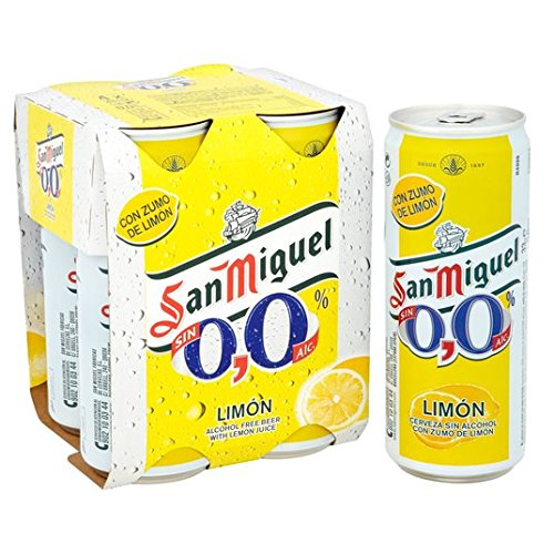 San Miguel 0,0% Limon 4 x 330ml