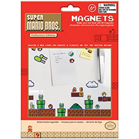 Super Mario Bros. Imanes, multicolor