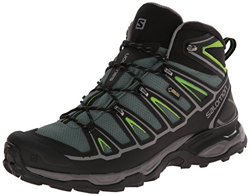 Salomon L37103200, Botas de Senderismo para Hombre, Verde (Bettle Green...