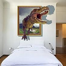 GenialES 3D Pegatina de pared Dinosaurios Vinilo Decorativo Adhesivo PVC para Infantiles Dormitorio 60X90cm B