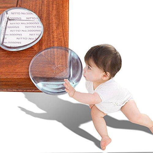 MagicHome Protectores de Esquinas o Bordes Suaves de Mesa, Silla, Pared, Protección de la Seguridad para Bebé o Niño