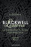 Blackwell Lessons - Leidenschaftliches Versprechen: Devoted 4 - Erotischer Roman