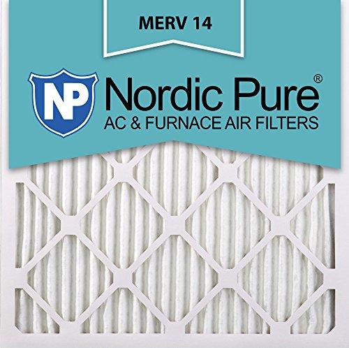 14x24x2 Ofen-filter (Nordic Pure 24x 24x 1m14–2Merv 14AC Ofen Filter 24x 24x 1Plissee Merv 14AC Ofen Filter 2Stück)
