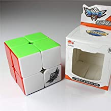 HappyToy Cyclone Boys Speed Cube Cubo 2x2x2 mugua velocidad stickerless cubo mágico rompecabezas colorido Puzzle Cube