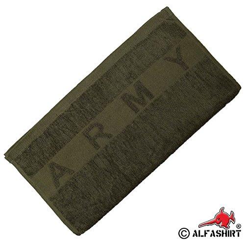 ARMY-Handtuch-oliv-grn-Militr-Bundeswehr-Ausrstung-US-Army-Armee-14187