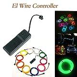 TianranRT Neon Glühend Drähte EL Draht Controller Inverter Adapter Batterie Pack Glühdrähte Wechselrichter Akku-Controller 3V