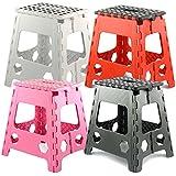 Large Folding Step Stool - 150kg Capacity by zizzi