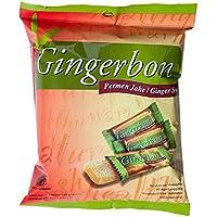 Gingerbon - Ginger Bons - Paquete de 5 (5 x 125 g) - Sabor original con una nota aguda